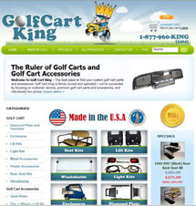 featured golf cart accessories dealer
