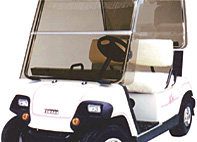 yamaha golf cart folding windshield