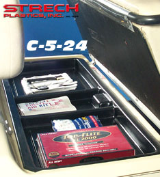 club car under seat tray