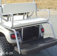Golf Cart Rear Seat Kits | StrechPlastics.com Golf Cart Back Cushion on golf cart body, golf cart skirt, golf cart axle shaft, golf cart width, golf cart cushion covers, golf bag back cushion, golf cart seat, golf cart frame,