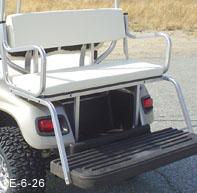 Golf Cart Rear Seat Kits | StrechPlastics.com Cheap Golf Cart Back Seats on golf cart accessories rear seats, golf cart front bucket seats, ez go golf cart seats, ezgo golf cart custom seats, ezgo golf cart replacement seats, cheap gas golf carts,
