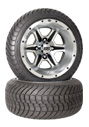 12 inch golf cart ss106 wheel