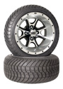 12 inch golf cart ss108 wheel