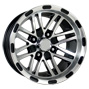 12 inch golf cart black spider wheel