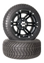 12 inch golf cart black ss212 wheel