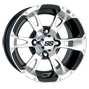 12 inch golf cart ss112 negative wheel