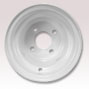 8 inch golf cart wheel white