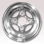 8 inch golf cart polished wheel