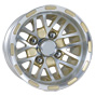 10 inch golf cart gold spider wheel