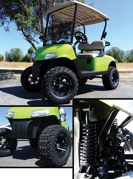 Strech Bolt On Longtravel 174 Golf Cart Lift Kits