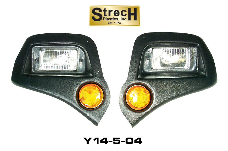 Golf Cart Headlights : Golf cart light kits lights strechplastics